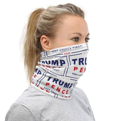 Image of Trump Pence 2020 Neck Gaiter Face Mask