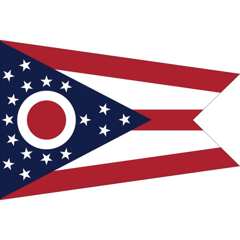 State of Ohio Flag - Outdoor - Commercial - Nylon Dyed - Made in America