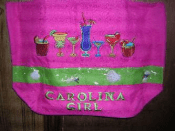 vendor-unknown Other Cool Flag Items Carolina Girl Beach Bag