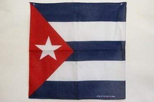 vendor-unknown Other Cool Flag Items Cuba Bandana
