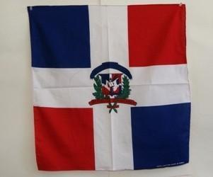 vendor-unknown Other Cool Flag Items Dominican Republic Bandana