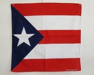 vendor-unknown Other Cool Flag Items Puerto Rico Bandana