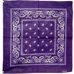 vendor-unknown Other Cool Flag Items Purple Paisley Bandana