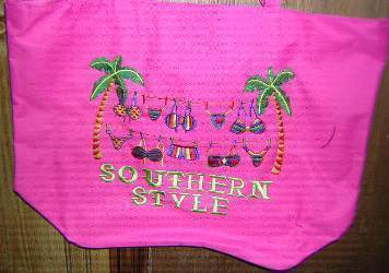 vendor-unknown Other Cool Flag Items Southern Style Beach Bag