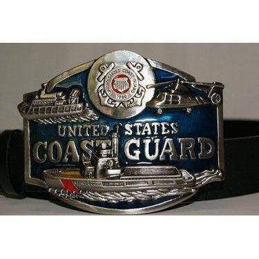 vendor-unknown Other Cool Flag Items United State's Coast Guard Belt Buckle