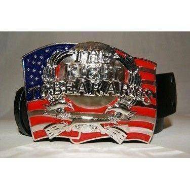 vendor-unknown Other Cool Flag Items USA The Right To Bear Arms Belt Buckle