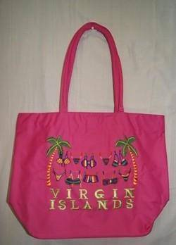 vendor-unknown Other Cool Flag Items Virgin Island Beach Bag