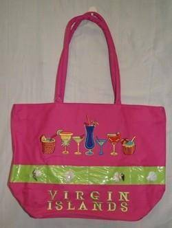 vendor-unknown Other Cool Flag Items Virgin Islands Drinks Beach Bag