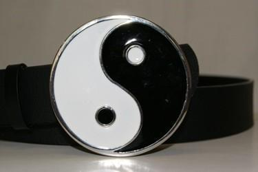 vendor-unknown Other Cool Flag Items Yin Yang Belt Buckle