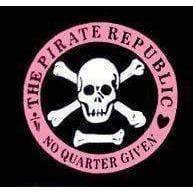 vendor-unknown Pirate Flags (Jolly Roger Flags) Pirate Republic (No Quarter Given) Flag 3 X 5 ft. Standard