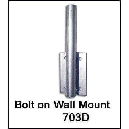 vendor-unknown Pole Bracket Flag Bolt On Wall Mount