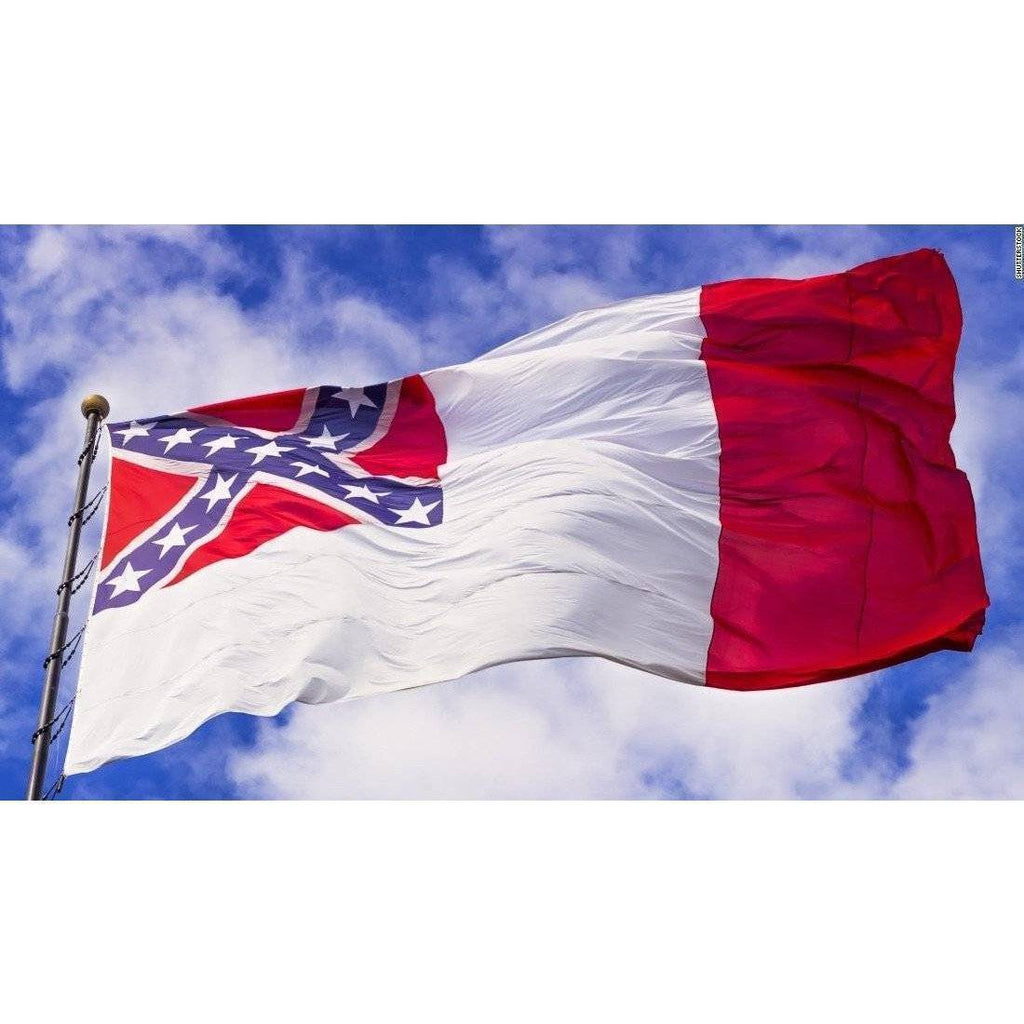 3rd National Confederate Cotton Flag 4 X 6 ft