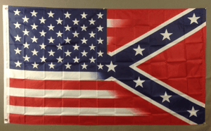 vendor-unknown Rebel Flags & Confederate Flags 3x5 / Polyester Rebel USA Flag 3 X 5 ft. Standard