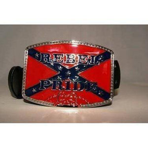 vendor-unknown Rebel Flags & Confederate Flags Rebel Pride Belt Buckle