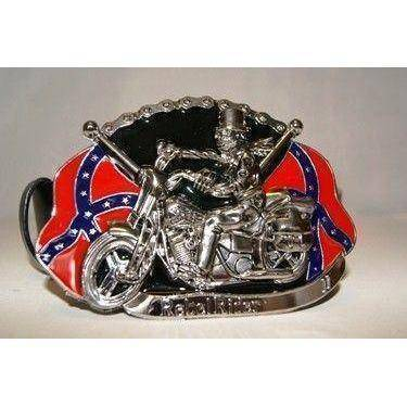 vendor-unknown Rebel Flags & Confederate Flags Rebel Rider Belt Buckle