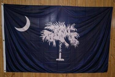 vendor-unknown Rebel Flags & Confederate Flags South Carolina 5 x 8 Flag