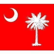 vendor-unknown Rebel Flags & Confederate Flags South Carolina Original Red Flag 3 X 5 ft. Standard