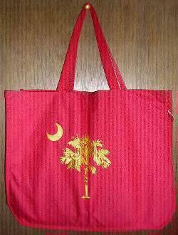 vendor-unknown Rebel Flags & Confederate Flags South Carolina Red and Yellow Beach Bag