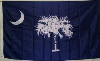 vendor-unknown Rebel Flags & Confederate Flags State of South Carolina Flag 3 X 5 ft. Standard