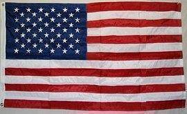vendor-unknown Search Flags by Quality 50 Star USA Nylon Embroidered Flag 2.5 ft X 4 ft.