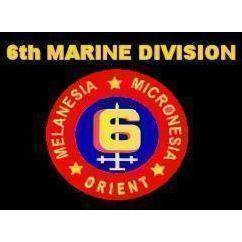 vendor-unknown Search Flags by Quality 6th Marine Division Flag 3 X 5 ft. Standard