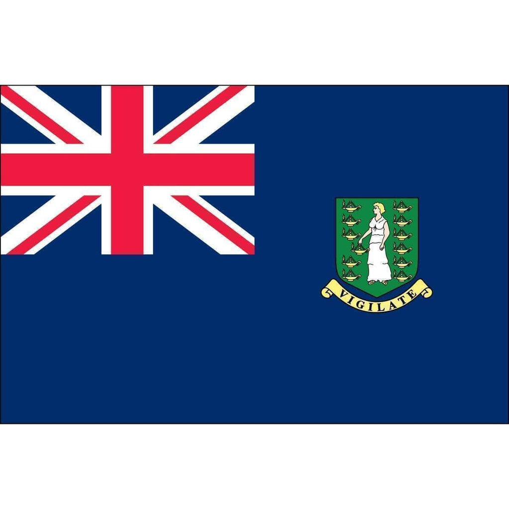 vendor-unknown Search Flags by Quality British Virgin Islands Flag 3 X 5 ft. Standard