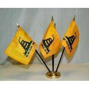 vendor-unknown Search Flags by Quality FREE FLAG: Gadsden Don't Tread on Me - Hand Flag