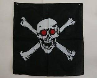 vendor-unknown Search Flags by Quality Pirate Red Eyes Bandana