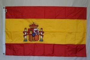 vendor-unknown Search Flags by Quality Spain Nylon Embroidered Flag 3 x 5 ft.