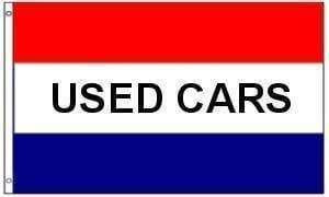 vendor-unknown Search Flags by Quality Used Cars Flag (sign flag) 3 X 5 ft. Standard