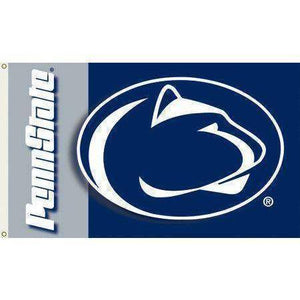 vendor-unknown Sports Items The Pennsylvania State University College Football Team Flag 3 x 5 ft
