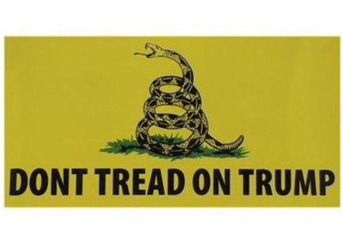 Don't Tread On Trump Flag Made in USA