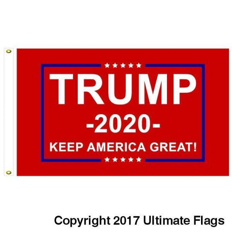 Image of Trump Keep America Great Flag 3X5 Rough Tex
