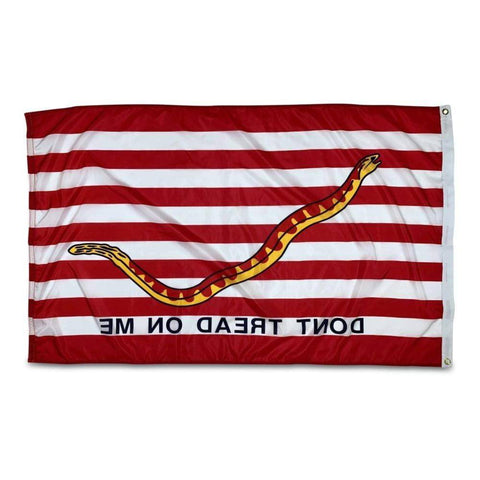 Image of 1st Navy Jack Flag 3x5 Nylon Printed Flag - Made in USA