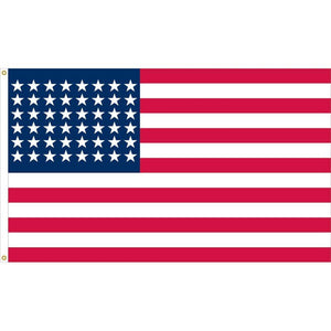 48 Star American Flag 1912 To 1959 2 Ply Nylon 3X5 Ft