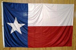 vendor-unknown US State Flags Texas Knitted Nylon 5 x 8 Flag