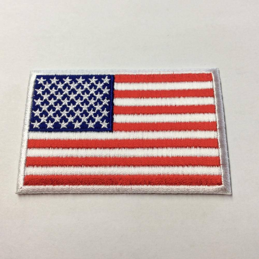 US Flag Patch - 2x3 inch 50 Star American Flag