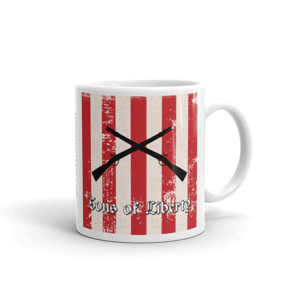 Sons of Liberty Flag Mug