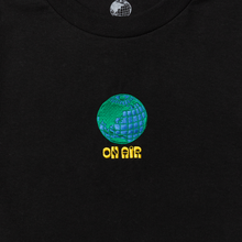 Load image into Gallery viewer, ON-AIR.EARTH L/SL Tee (Black)