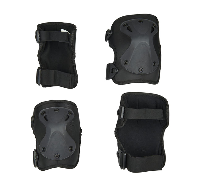 Black Elbow-Knee Pad S