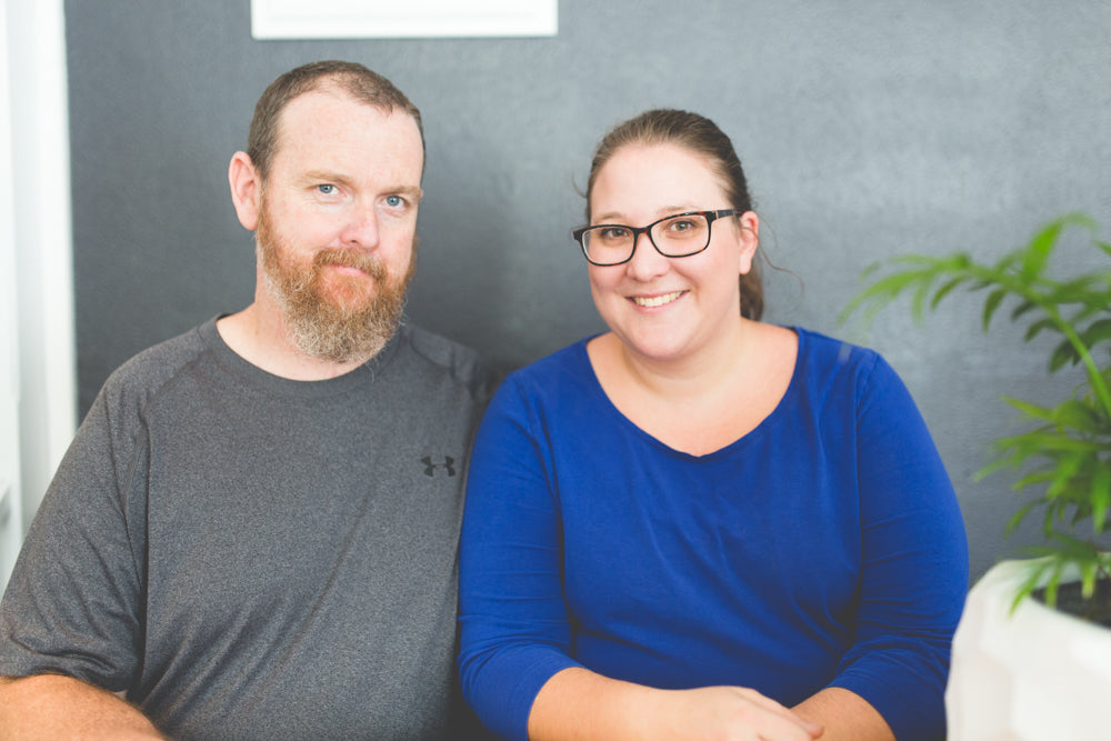 Meet Adam and Rebecca Fogarty Co Owners - fellow crafters - DIY Enthusiasts