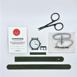 Classic 42 Wrist Watch Kit Hammered Leatherworks DIY kit