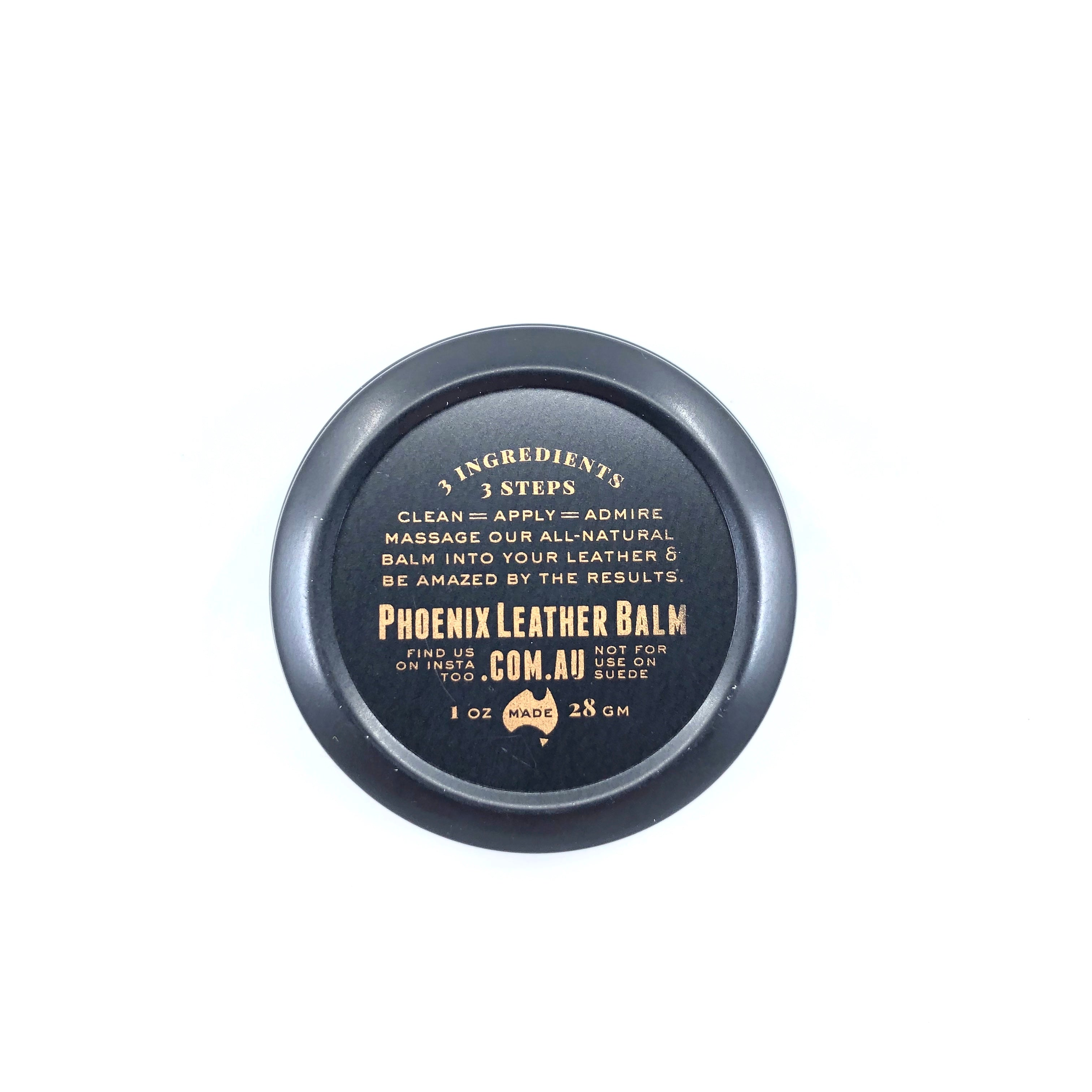 Phoenix Leather Balm – Hammered Leatherworks