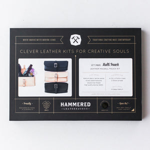 Multi Pouch Kit Hammered Leatherworks DIY kit