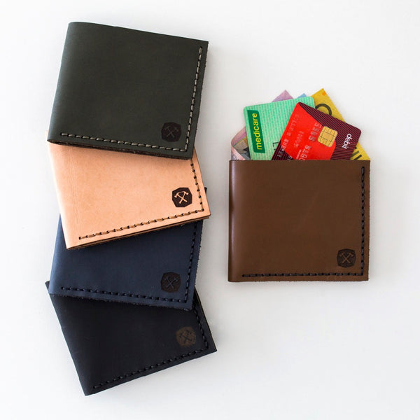 Pocket Wallet Kit Hammered Leatherworks DIY kit