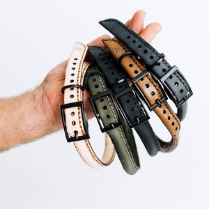 The Great Dog Collar Kit Hammered Leatherworks DIY kit