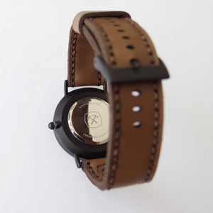 Thirty Six Wrist Watch Kit Hammered Leatherworks DIY kit
