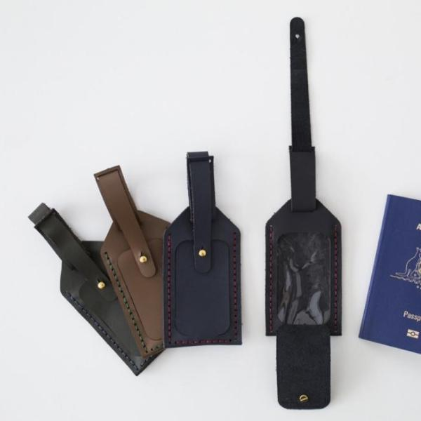Whisk Luggage Tag Kit Hammered Leatherworks DIY kit
