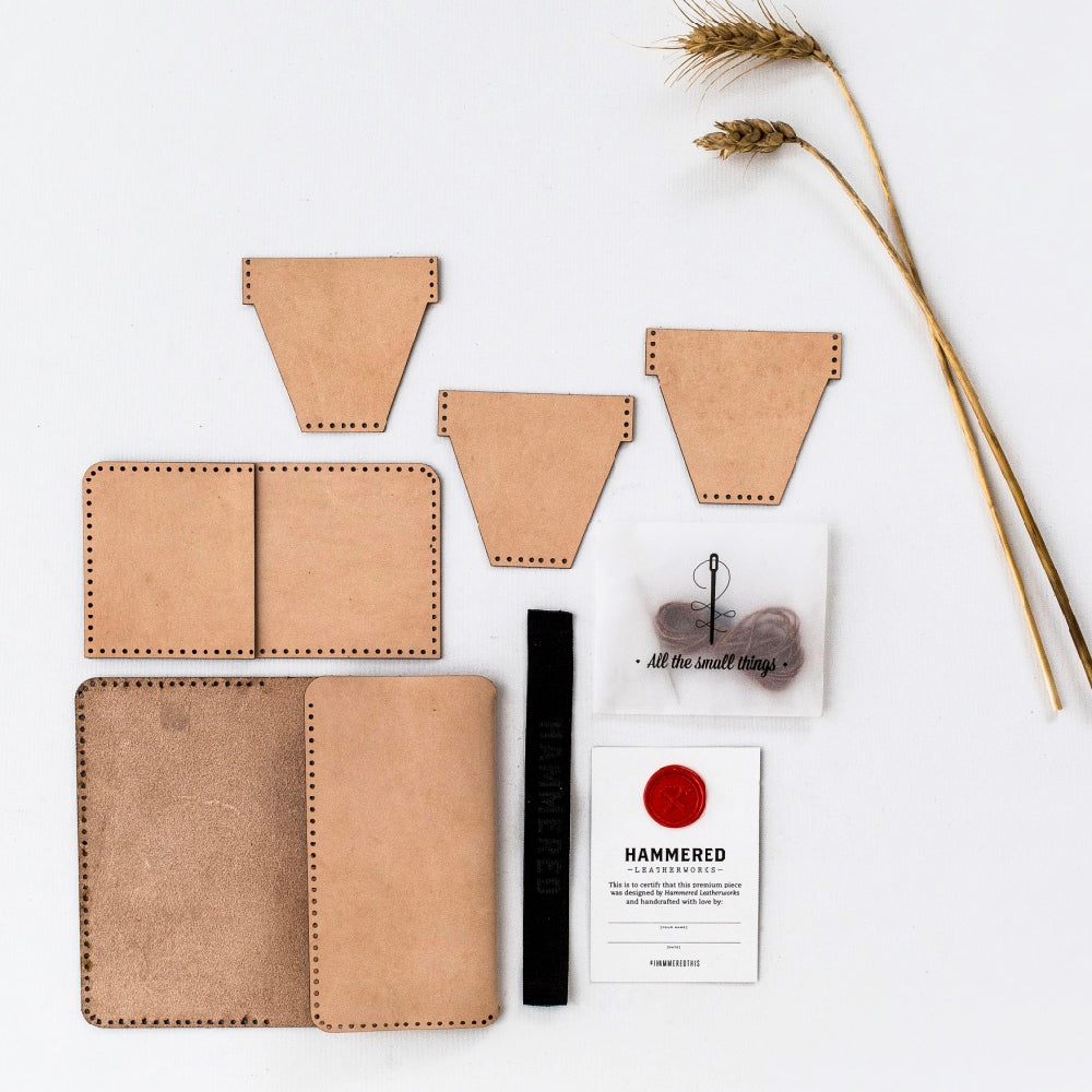 iphone Wallet Kit Hammered Leatherworks DIY kit