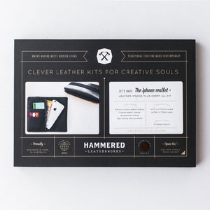 iphone Wallet Plus Kit Hammered Leatherworks DIY kit
